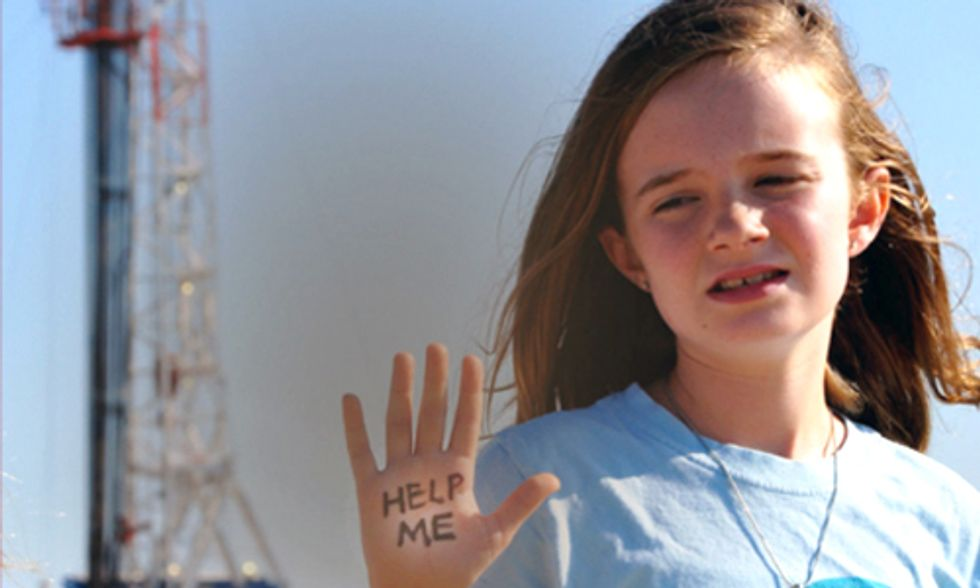 Poisoned Fracking Playgrounds a Threat to Texas Kids