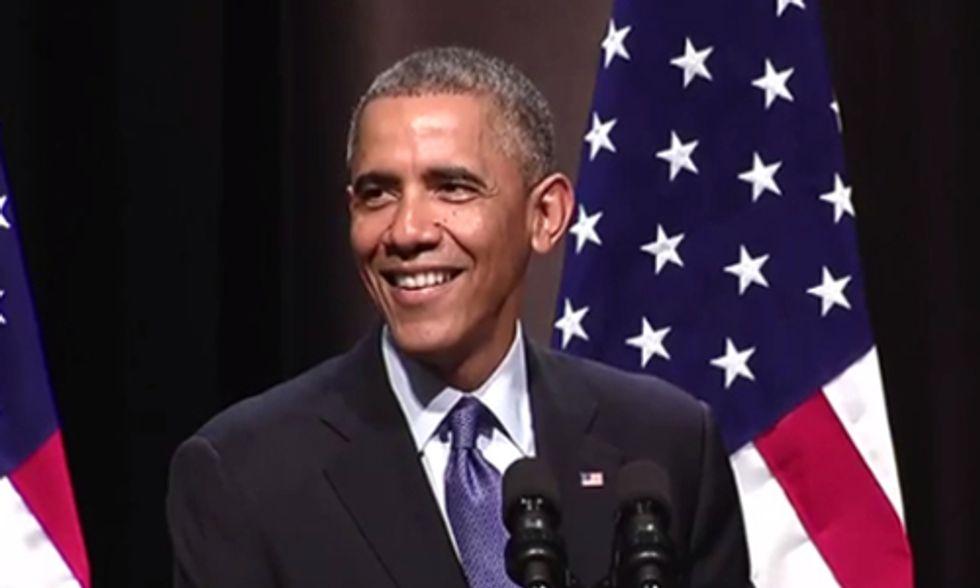 President Obama's Ode to Fracking