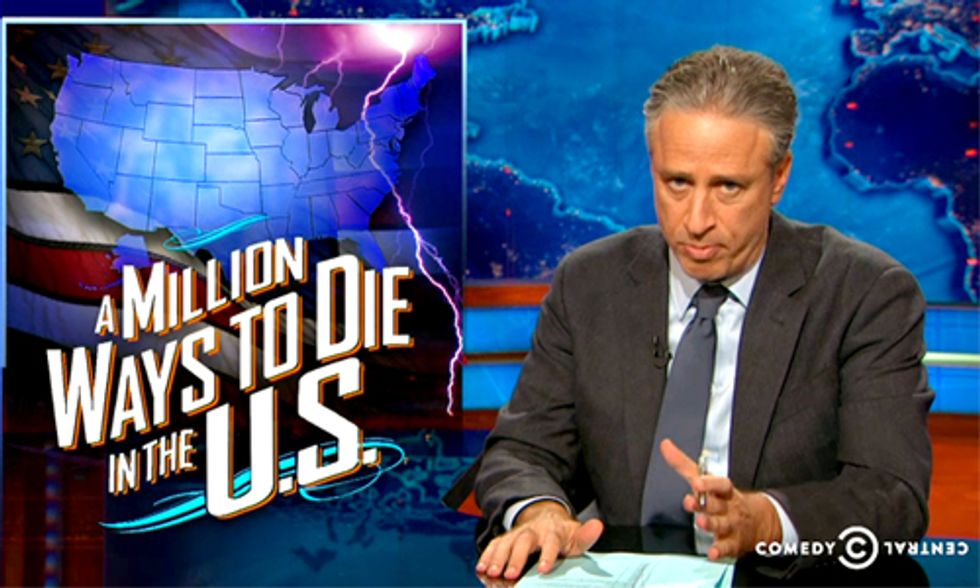 Jon Stewart: 'We Must Do Whatever It Takes to Save American Lives'