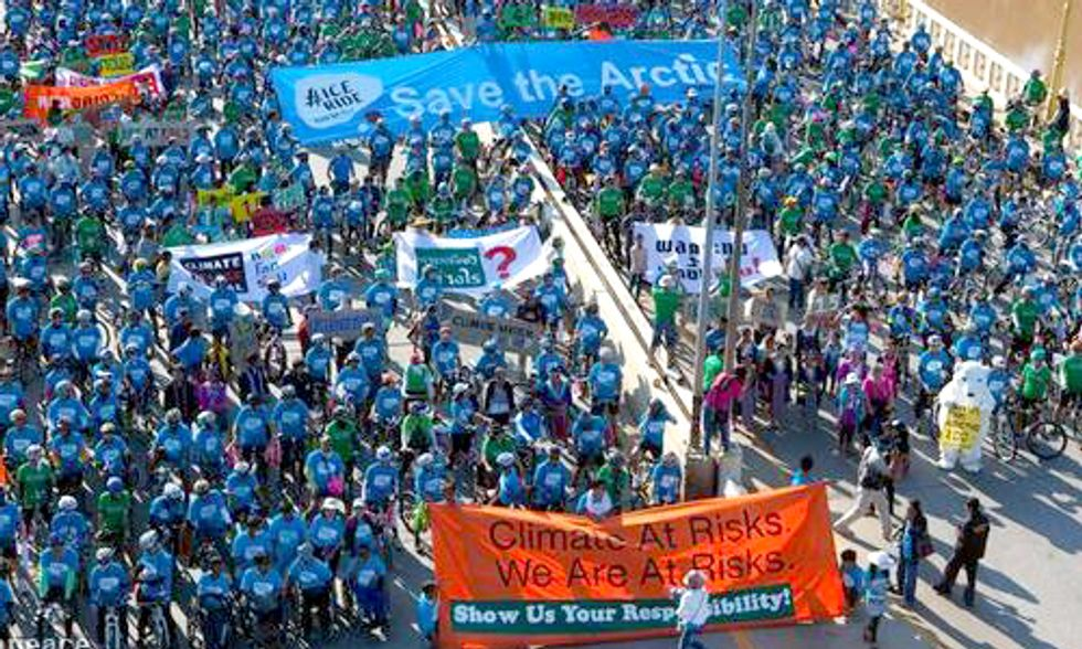 20,000+ Ride to Save the Arctic