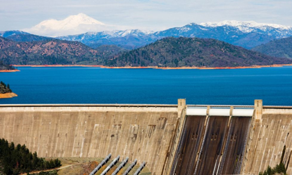 California Drought Cuts Hydroelectric Generation in Half