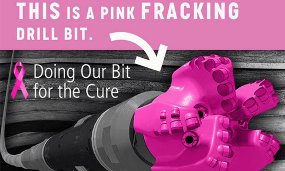 Pinkwashing: Fracking Company Teams Up With Susan G. Komen to 'End Breast Cancer Forever'