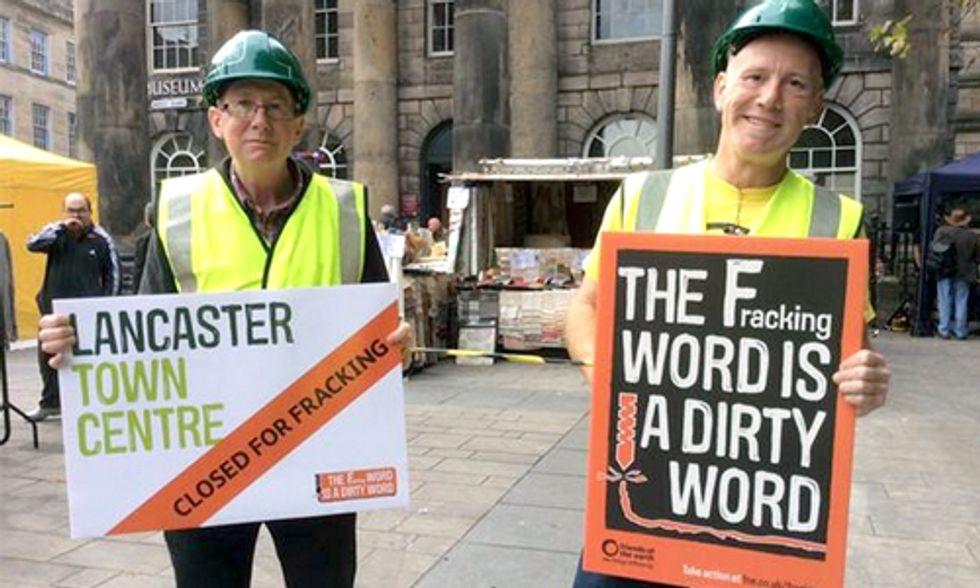 Global Frackdown Unites Thousands Calling for Worldwide Ban on Fracking