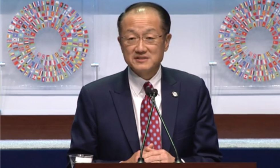 Ebola and Climate Change: 'We Are Running Out of Time,' says World Bank President