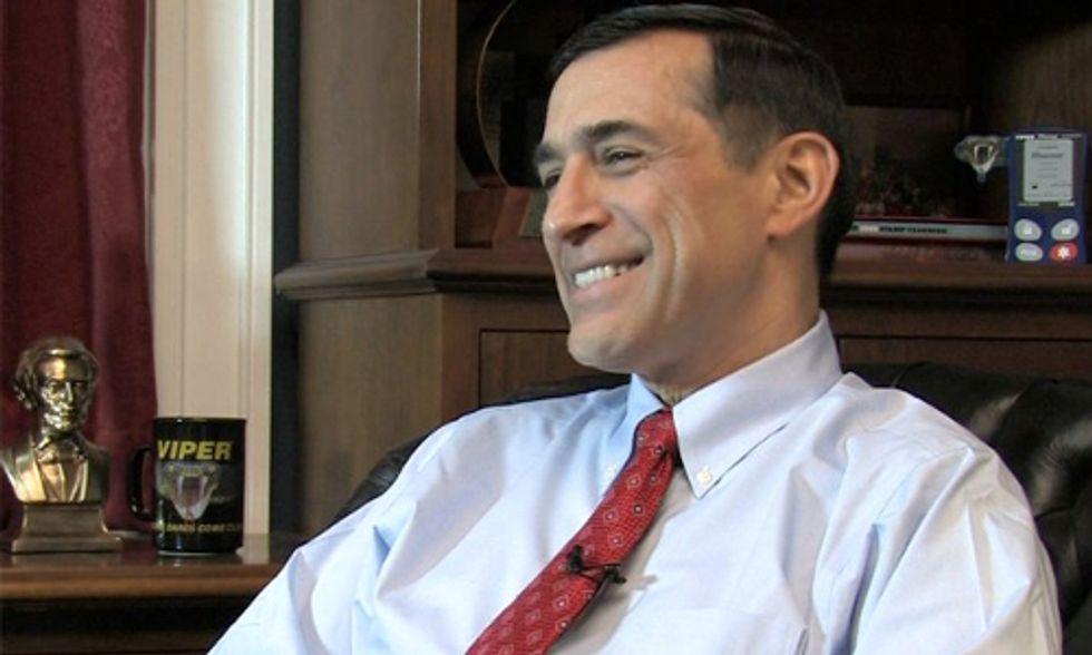 Congressman Issa Accuses EPA of Conspiring With Environmentalists