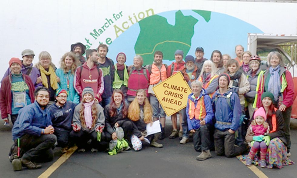 The Great March for Climate Action