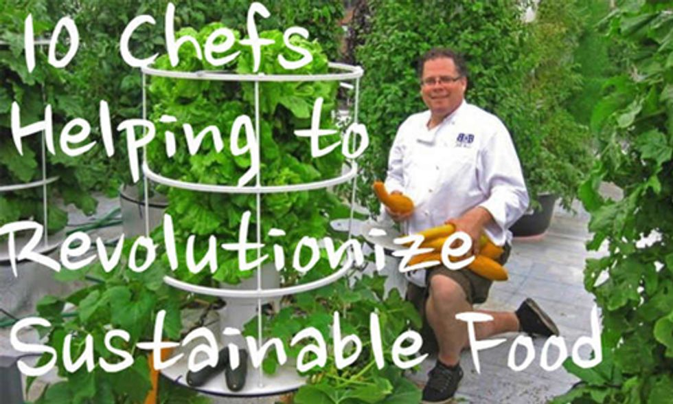 10 Top Chefs Growing Their Own Food