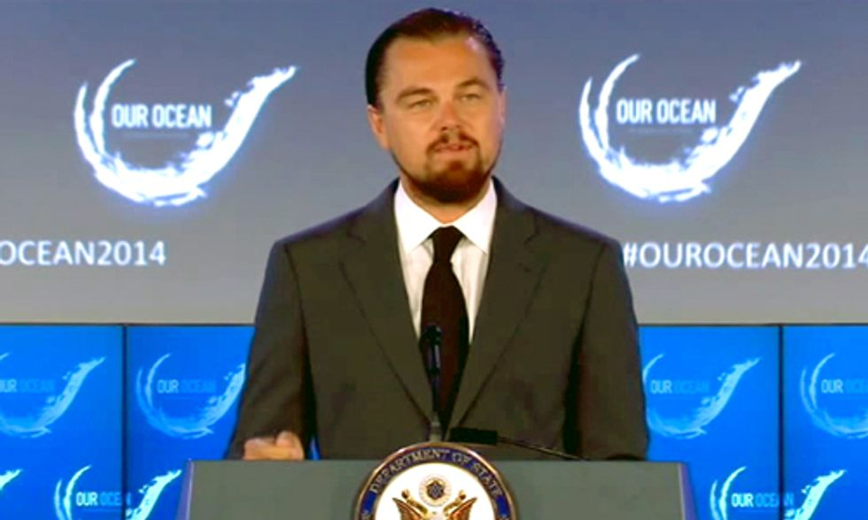 DiCaprio Donates $2 Million to Protect the Oceans
