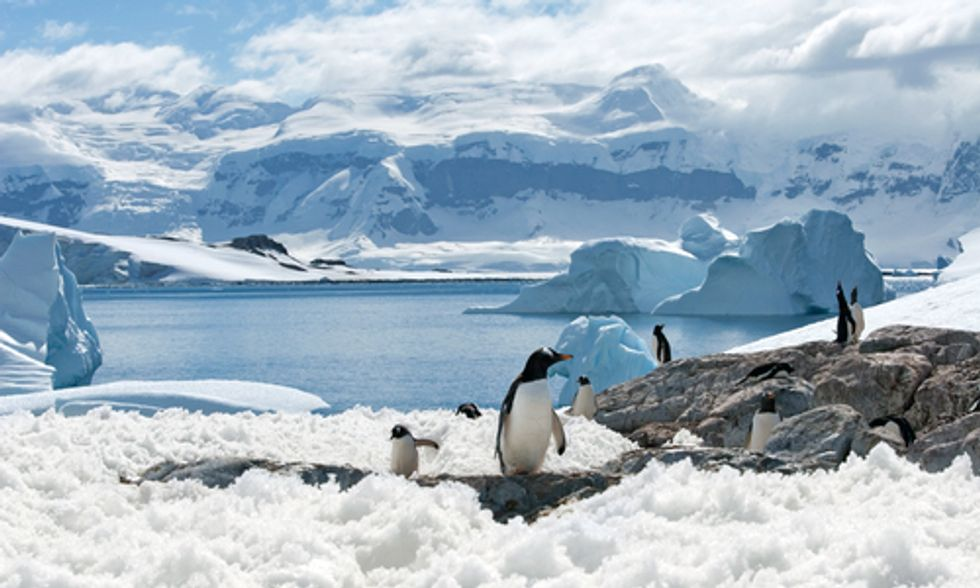 In Antarctica, Time Is Melting Away