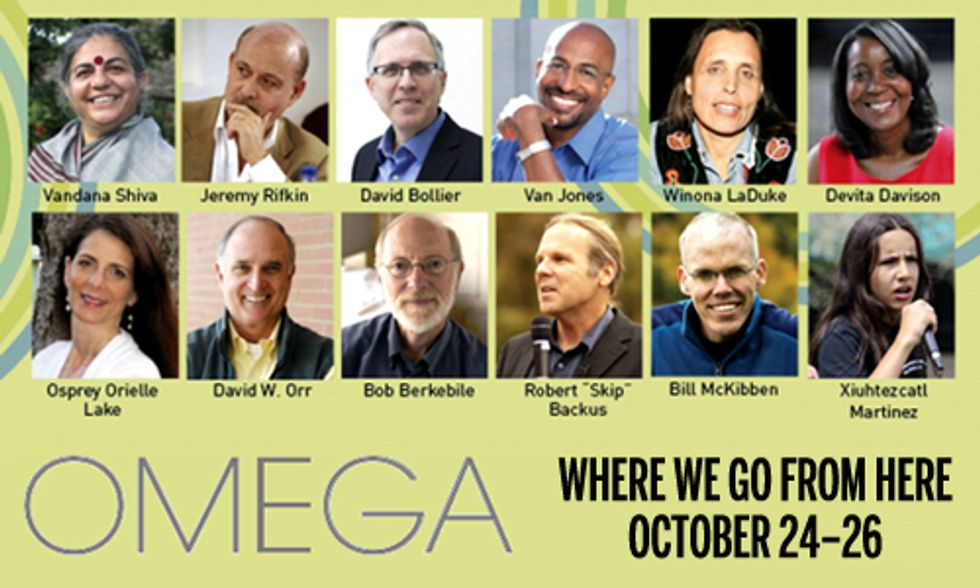 Omega Institute's 'Where We Go From Here' Conference