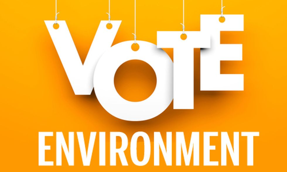 Environment Draws Unprecedented Midterm Campaign Spending