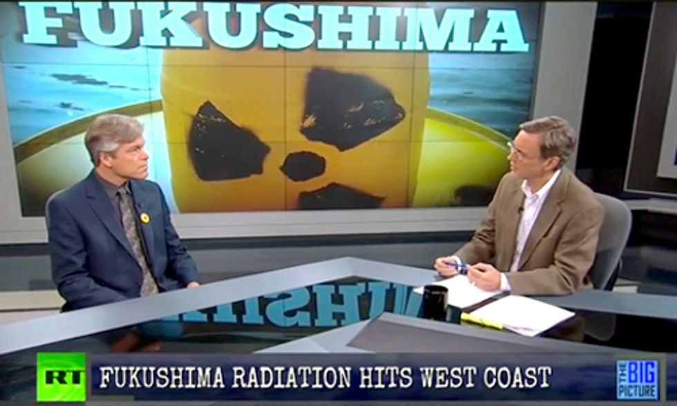 Fukushima Radiation Nearing West Coast