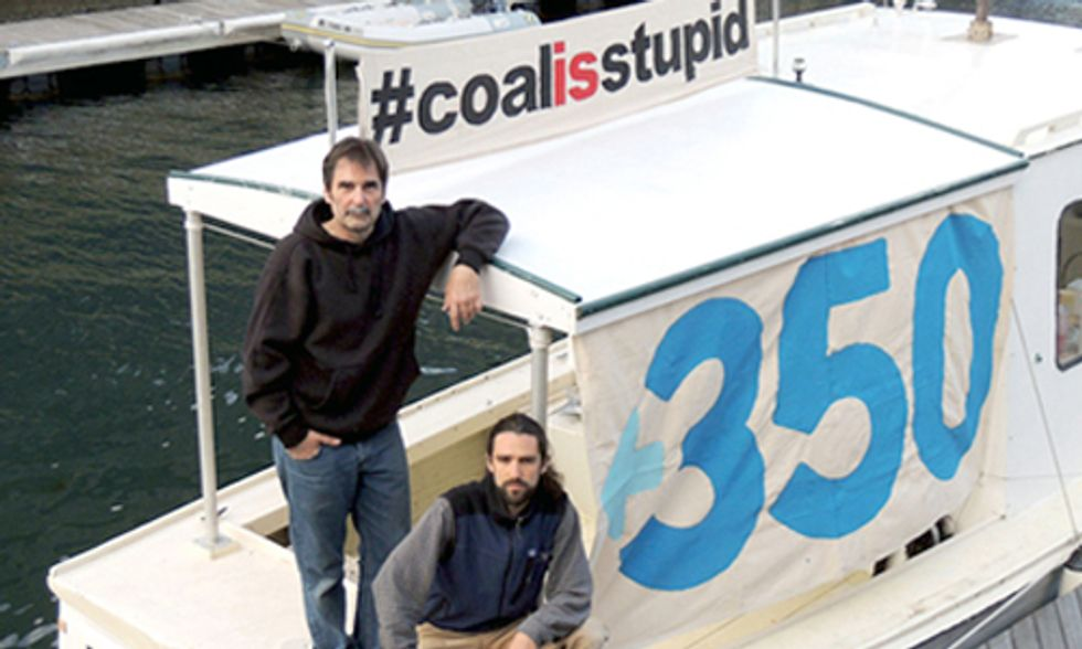 WATCH LIVE STREAM: The Lobster Boat Blockade's Climate Change Defense
