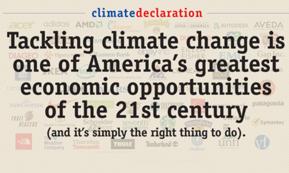 100+ Join Microsoft Calling for Action on Climate Change