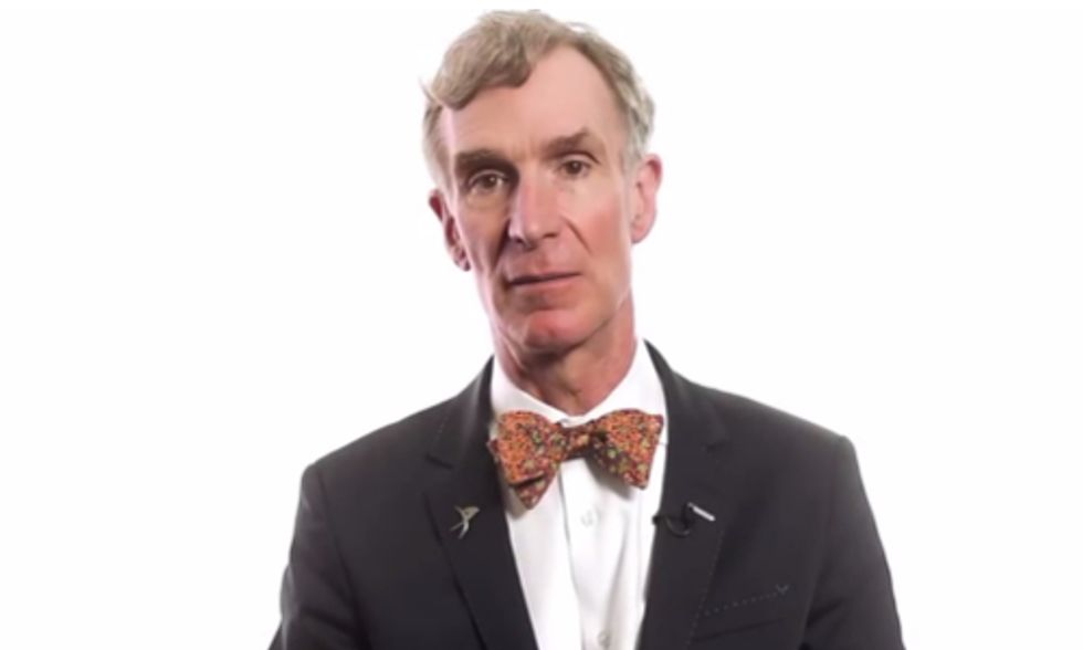 Watch Bill Nye Shred Climate Denying Congresswoman