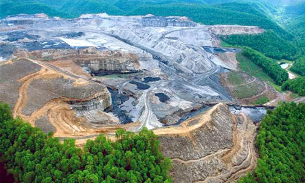 Mountaintop Removal Coal Mining Industry Continues to Poison Appalachia