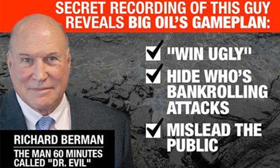 Secret Tape Exposes Fracking Industry Playing Dirty