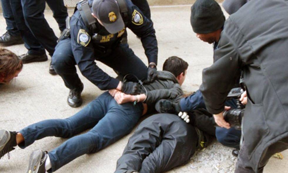Breaking: 25 Arrested Shutting Down FERC Office in DC