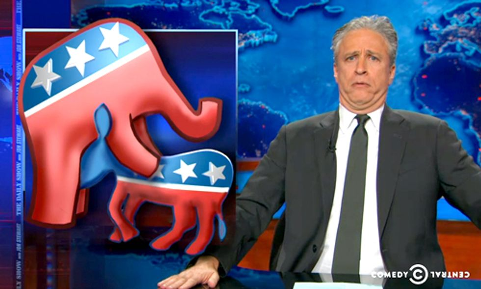 Watch Jon Stewart's Take on the Election