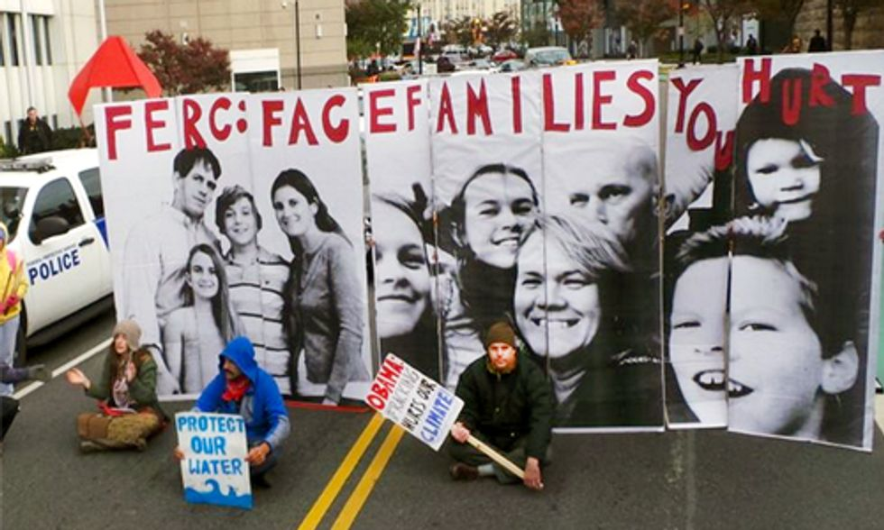 100+ Arrested at Beyond Extreme Energy's Week-Long Protests at FERC
