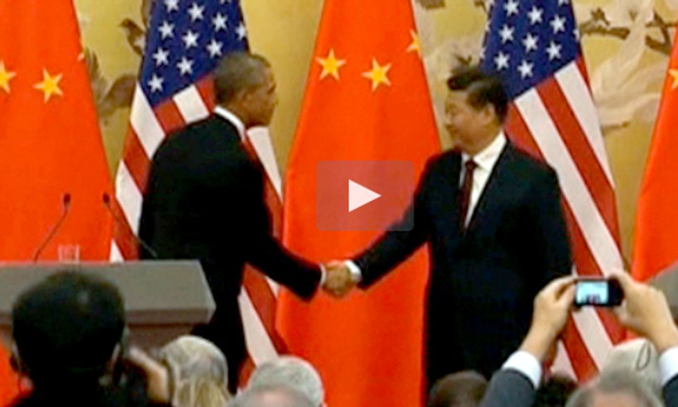 U.S. and China Strike Historic Climate Change Deal