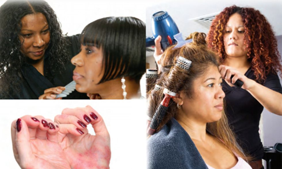 Toxic Chemicals in Salons Linked to Adverse Health Effects, Including Cancer