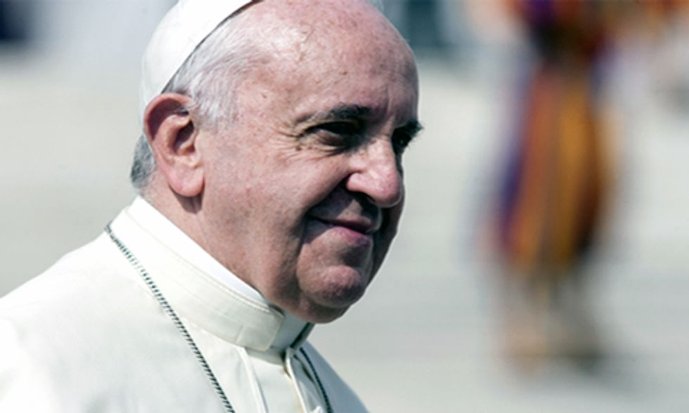 Pope Francis: 'Unbridled Consumerism' Is Destroying Our Planet