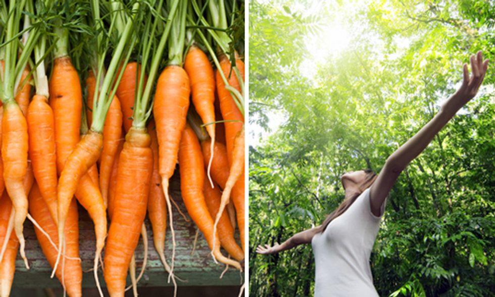 Eating Healthy Mitigates Climate Change