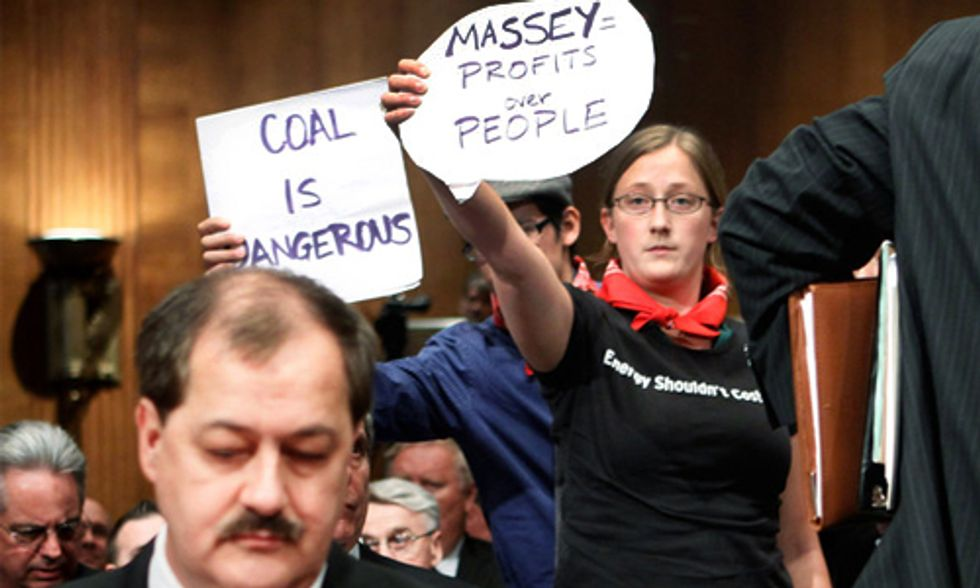 Former Massey Energy CEO Don Blankenship Indicted for Deaths of 29 Coal Miners