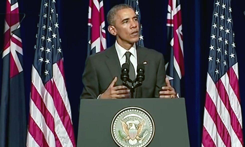 Obama Pledges $3 Billion to Green Climate Fund