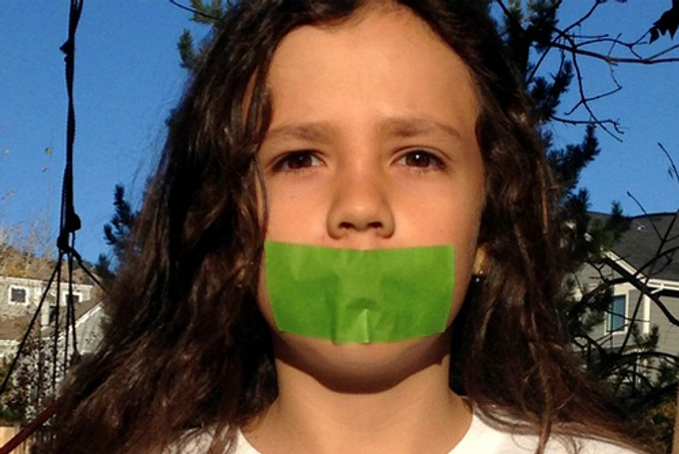 11-Year-Old Takes Vow of Silence Demanding Climate Action