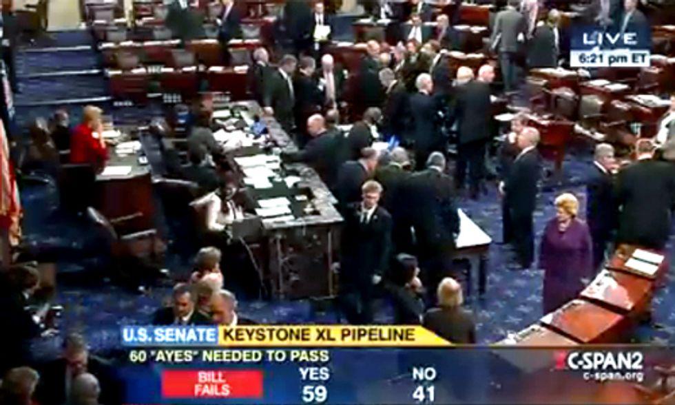 Breaking: Senate Rejects Keystone XL Pipeline