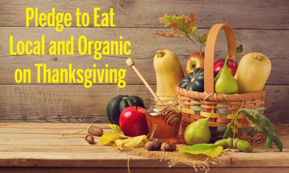 Pledge to Eat Local and Organic on Thanksgiving