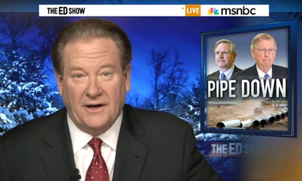Ed Schultz Tells GOP to Pipe Down