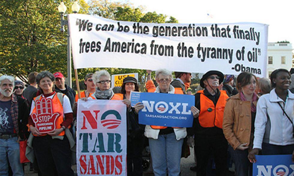 Enbridge, TransCanada Play Dirty to Get Tar Sands Oil Across U.S. Border