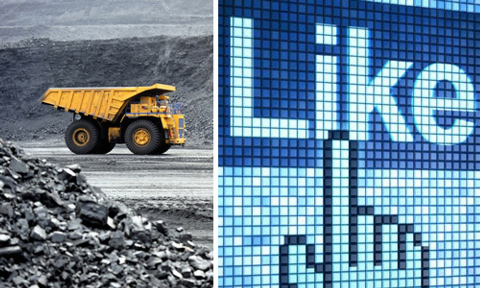 Big Coal Buys Facebook 'Likes' in Lame PR Stunt