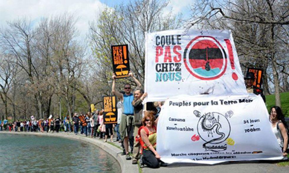Activist/Author Generates $300,000+ in Fight Against TransCanada's Energy East Pipeline