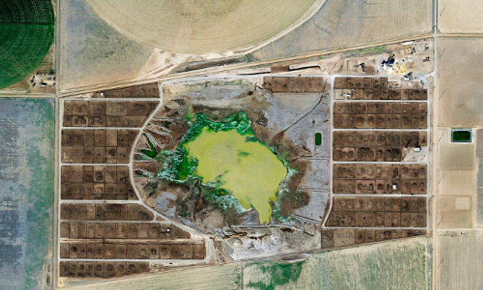 Stunning Aerial Photos Show How Factory Farms Ravage the Earth