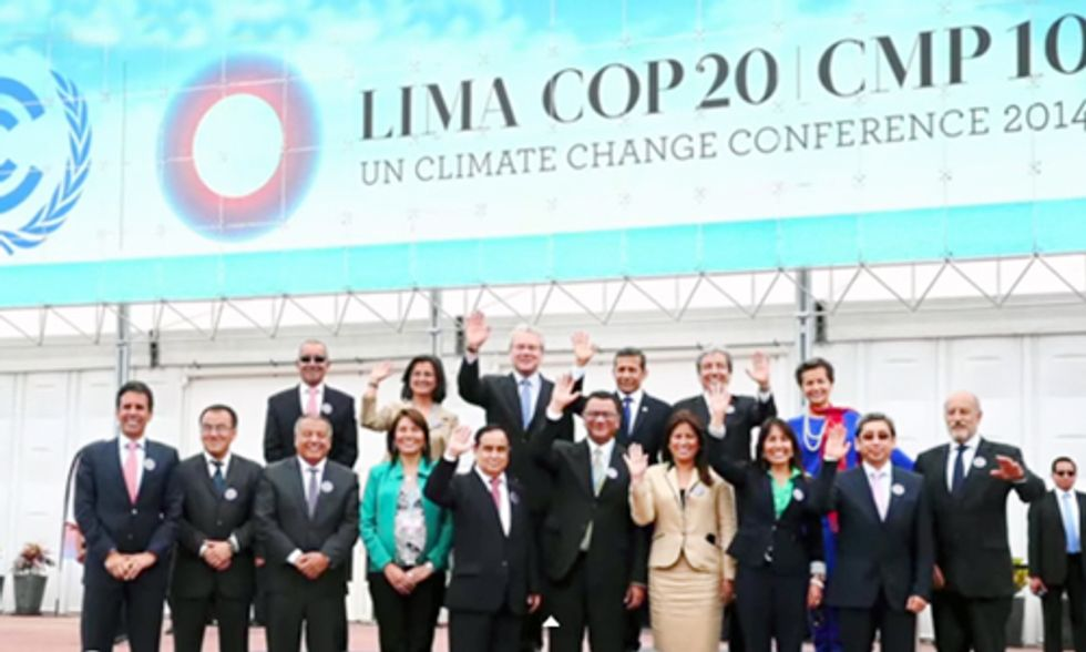 Momentous Pressure on World Leaders as Climate Talks Begin in Lima