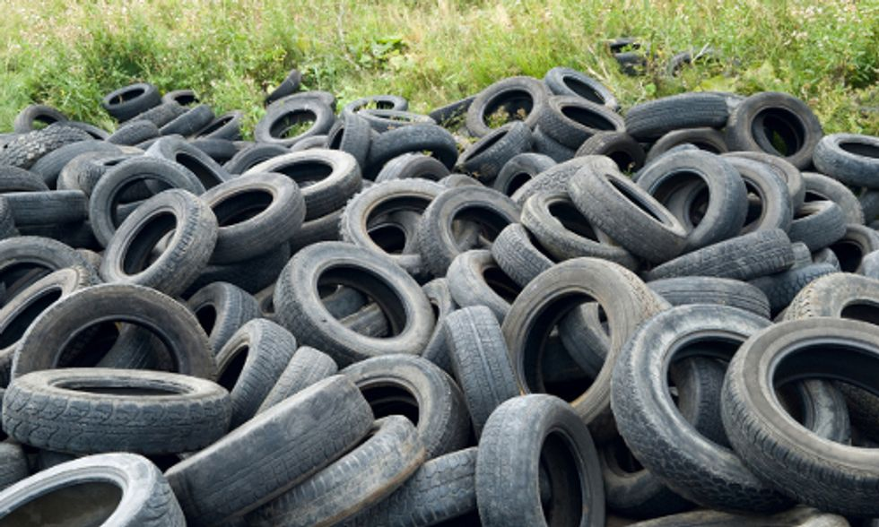 Find Out Which State Wants to Include Burning Tires in Its Definition of 'Renewable Energy'