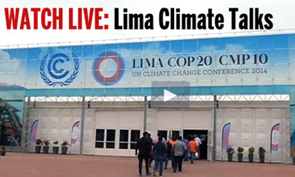 Watch Live: UN Climate Summit in Lima, Peru
