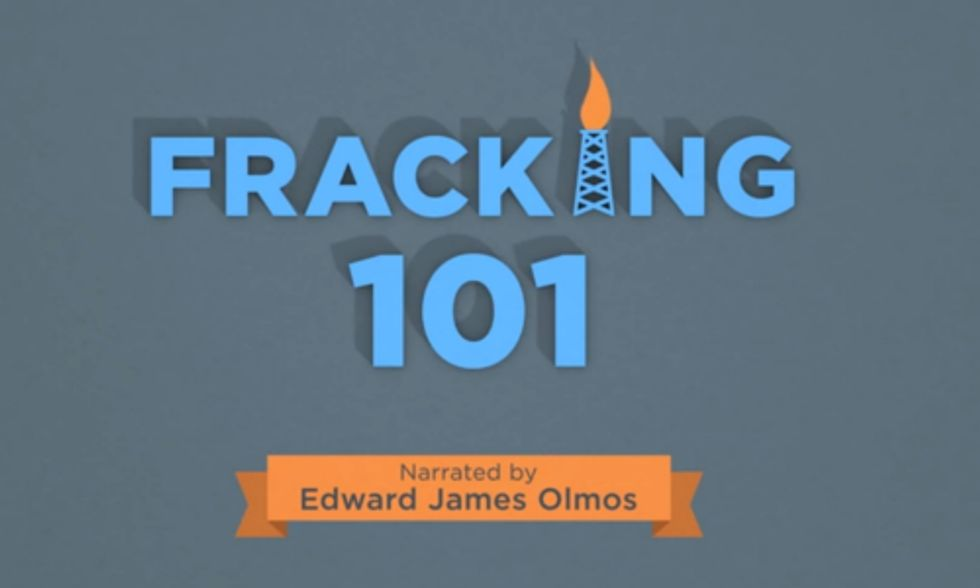 WATCH: Fracking 101 Narrated by Edward James Olmos