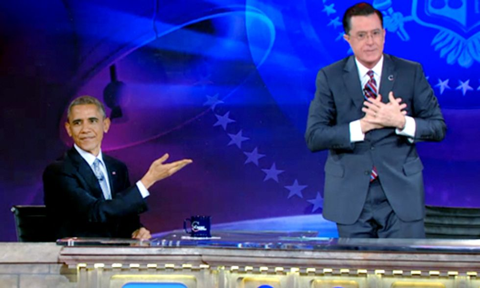 Obama Tells Colbert: Keystone XL Could Be 'Disastrous'