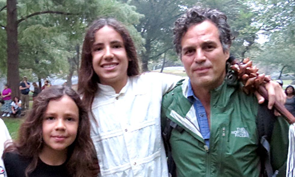 Mark Ruffalo: 11-Year-Old Demands Climate Action With Vow of Silence Pledge