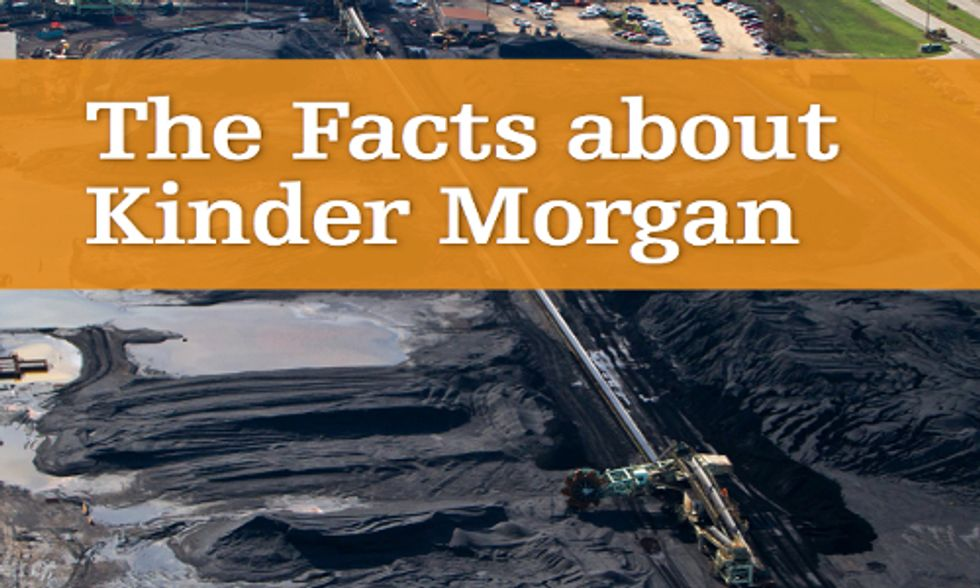 Energy Giant Kinder Morgan's Ambitious Goals Cost Communities Big