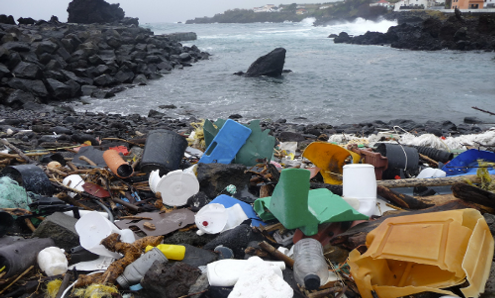 Groundbreaking Study: 5 Trillion Pieces of Plastic Floating in World's Oceans
