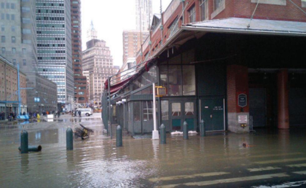 NYC Mayor de Blasio Steps Up on Climate Change