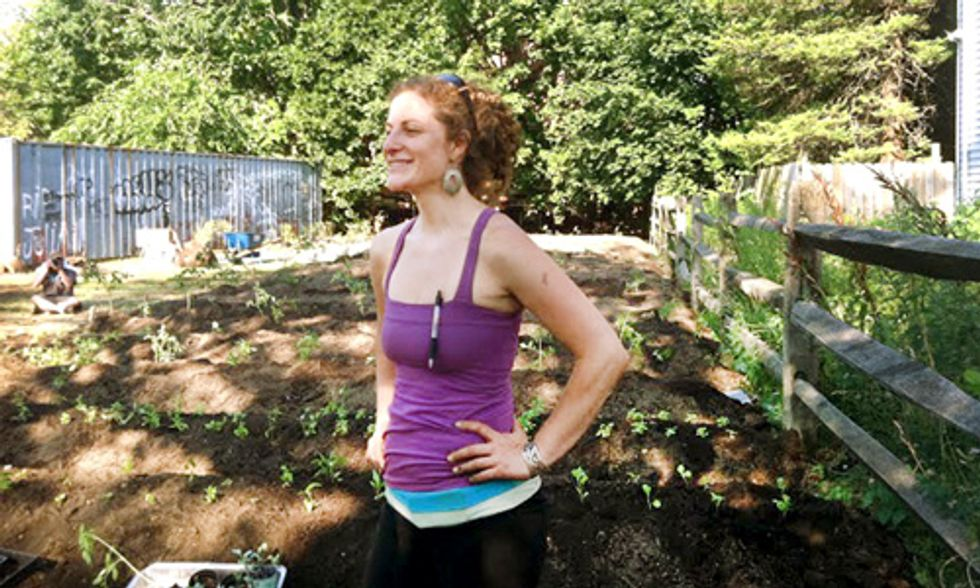 Columbia Sustainability Alum Transforms Vacant Lots Into Urban Gardens