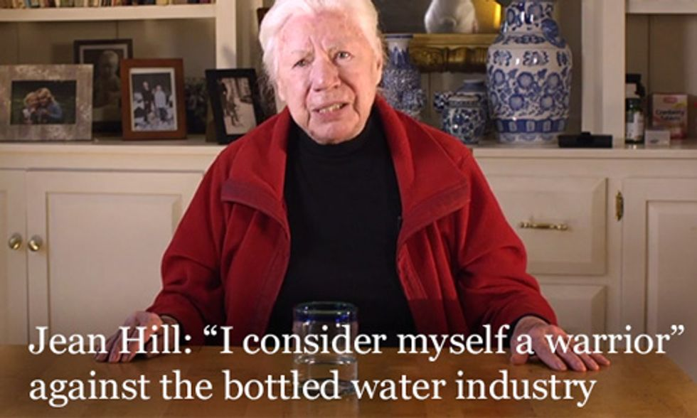 84-Year-Old Grandmother's Crusade to Ban Bottled Water