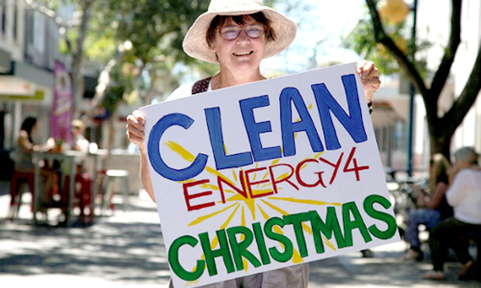Christian Group Gives Coal-Loving Australian Prime Minister 'Clean Energy 4 Christmas'